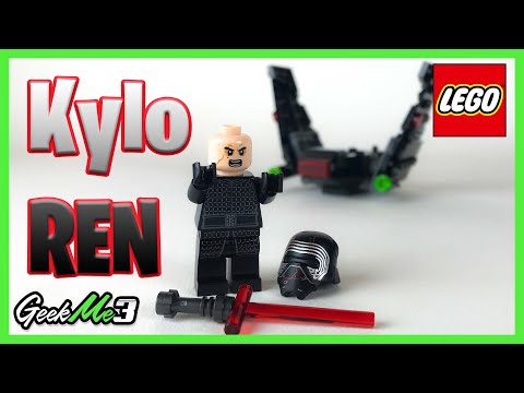 Vidéo LEGO Star Wars 75264 : Microfighter Navette de Kylo Ren