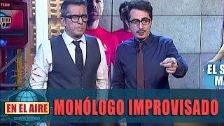 En El Aire - Buenafuente Y Berto Improvisan Un Monólogo Por Los 100 Programas