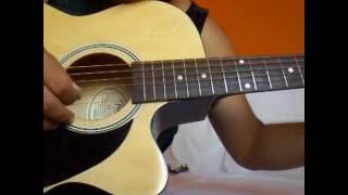 Como Tocar Atado A Tu Amor - Chayanne (tutorial de guitarra)