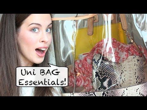 Uni/Schule: Must-Haves | What's in my Uni Bag | Deutsch