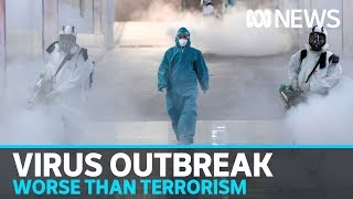 WHO warns coronavirus is 'public enemy number 1' and potentially worse than terrorism   ABC News