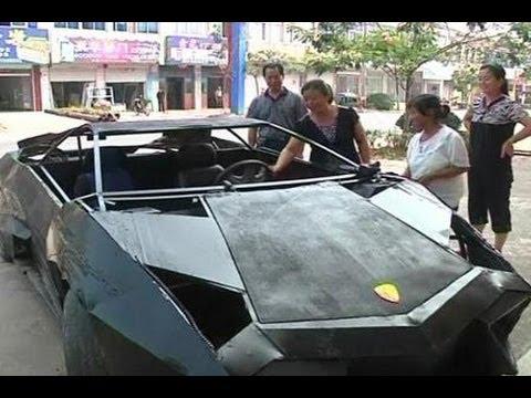 Video Tidak Bisa Memiliki Lamborghini? Buatlah sendiri!