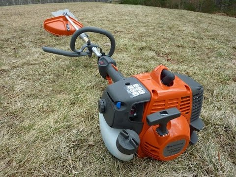 Husqvarna Brush Cutter 128DJX Overview, Quick Demo, and First Impressions
