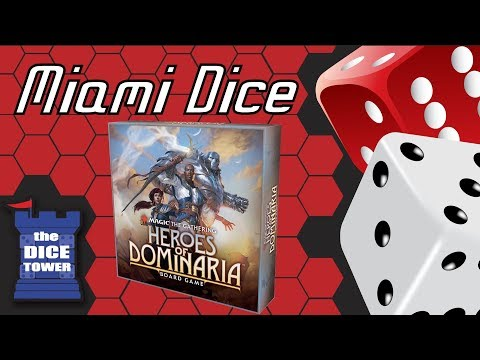 Miami Dice - Magic the Gathering: Heroes of Dominaria