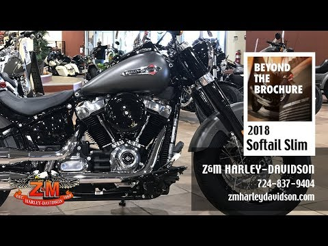 Motorcycles Harley Davidson Softail Slim 107 2018 Greensburg PA A8864932 7545 4133 9607 A84e01283414