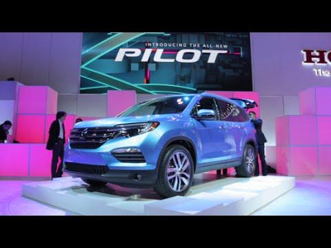 2016 Honda Pilot  - 2015 Chicago Auto Show