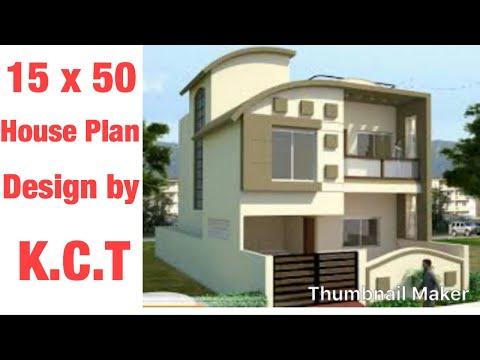 15 X 50 House Design 1 BHK Type - 1 - Kalam Construction & Tech