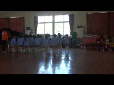 芽生え幼稚園リトミック教室 ゆり組 ピタッとダンス