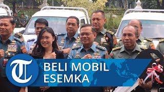 Kemenhan Beli 10 Unit Mobil Pick Up Esemka