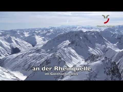 Winter in Disentis - Sedrun, Graubünden, Schweiz, Zentralalpen, Gottardo, Andermatt