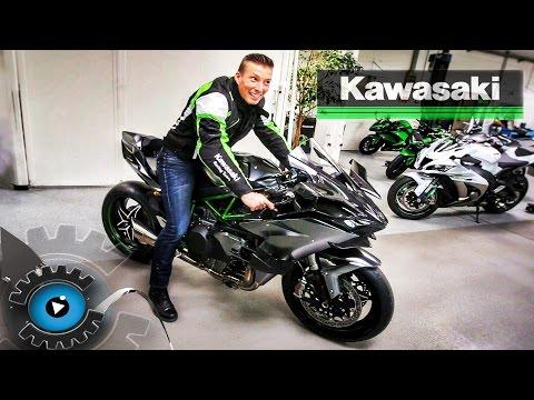 DAS SCHNELLSTE MOTORRAD DER WELT? - NINJA H2R   Kawasaki Z1000R Review - Test [Deutsch/German]