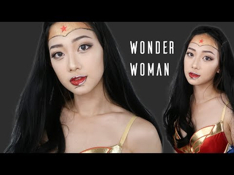 [Halloween]Wonder Woman DC Comic Inspired Makeup [萬聖節]漫畫版神力女超人玩妝