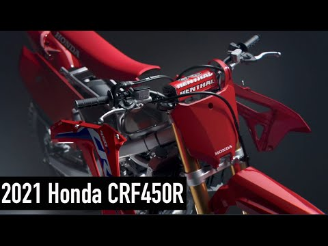 2021 Honda CRF450R in Augusta, Maine - Video 1