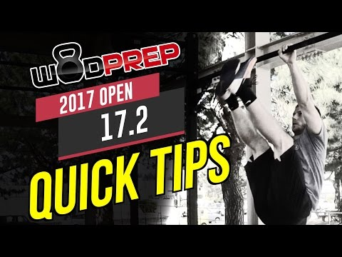 CrossFit 17.2 Open WOD Quick Tips and Strategy (WODprep Official)