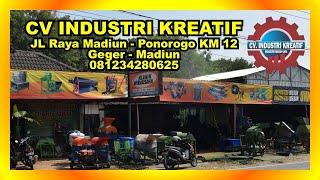 Welcome To CV Industri Kreatif ( Industri Mesin UKM Madiun )
