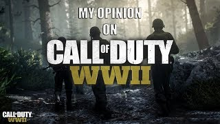 My Opinion On-Call Of Duty WWII:(Gameplay Commentary)