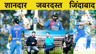 KL Rahul, Rohit Sharma and skipper Virat Kohli struck explosive half centuries to power India to a mammoth 240 for 3 in series-deciding third T20 against West Indies.   कृपया इस लिंक पर क्लिक करें और TAK ऐप डाउनलोड करें https://bit.ly/33A6Scr  For Advertising queries, please give us a missed call on +917827000333 Or mail us at mobiletak@aajtak.com  If you want to buy any product related to sports, you can visit our storefront on Amazon.in  Click on the link given below to visit Sports Tak's store front.  https://www.amazon.in/shop/sportstak ---------- About Sports Tak:   स्पोर्ट्स तक (Sports Tak) खेल की दुनिया की हर छोटी-बड़ी खबर आपके लिए लाता है। स्पोर्ट्स You Tube पर आपको मिलेगी हर ब्रेकिंग न्यूज, विश्लेशण और बड़े-बड़े खिलाड़ियों के Exclusive इंटरव्यू। साथ ही सुनील गावस्कर, हरभजन सिंह, मोहम्मद अजहरूद्दीन, मदनलाल, आकाश चोपड़ा और निखिल चोपड़ा जैसे क्रिकेट दिग्गज आपके लिए खेल पर चर्चा करेंगे और आपके सवालों के जवाब भी देंगे। खेल जगत की हर खबर से रूबरू होने के लिए सब्सक्राइब/Subscribe कीजिए स्पोर्ट्स तक (Sports Tak)।    You can follow स्पोर्ट्स तक (Sports Tak) on:   Sports Tak Youtube: https://www.youtube.com/sportstak Sports Tak Facebook: https://www.facebook.com/sportstak/ Sports Tak Twitter: https://twitter.com/sports_tak SportsTak Instagram: https://www.instagram.com/sportstakofficial/   Sports Tak, as the name suggests, is all about sports. You can find all the latest sports news from around the world here. Not just that, we bring to you exclusive interviews, live chats with players - past and present - and also the top journalists from sports journalism. It is an exclusive platform for sports news updates for the fans, not just from the sub-continent but the world over