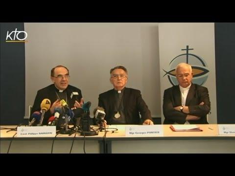 Pédophilie : conférence de presse de la CEF