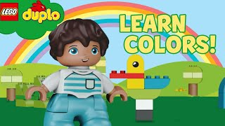 LEGO DUPLO - Learn Colors Song + More Learning For Toddlers | Nursery Rhymes | Cartoons & Kids Songs