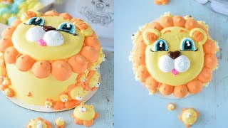 Маршмеллоу на торт! Весь торт оформлен Маршмеллоу и только Маршмеллоу! Торт-Мордашка.