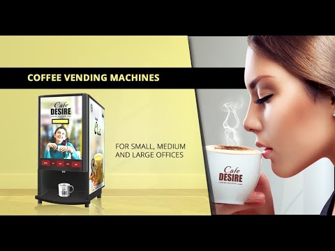 Double Option Coffee Vending Machine
