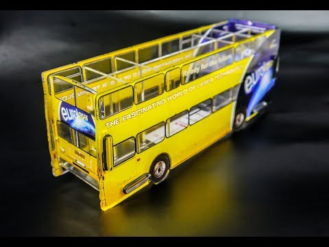 Printed Acrylic Bus | Workflow