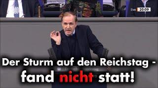 Sturm auf den Reichstag? Fakenews-Kampagne der Regierung entlarvt