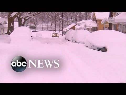 Midwest, Northeast slammed by dangerous snow, ice