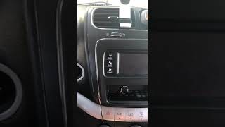 2015 Dodge Journey Won't Start (Hard brake petal)