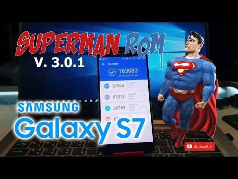 SAMSUNG S7 EDGE EXYNOS ROM / SUPERMAN ROM V3 0 1/ ANDROID 8 0 OREO