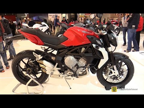 2015 MV Agusta Brutale 675 - Walkaround - 2014 EICMA Milan Motorcycle Exhibition