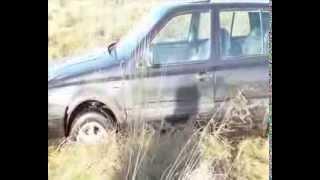 preview picture of video 'Morąg: Uciekał przed policjantami. Jego auto utknęło w bagnie'