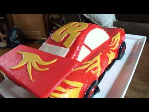 Amazing Cars (disney/pixar) Cake For Tàmiel His 4th B-day!