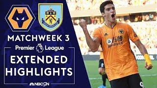 Wolves v. Burnley | PREMIER LEAGUE HIGHLIGHTS | 8/25/19 | NBC Sports