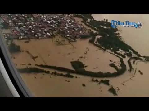 Dari Udara, Lihat Parahnya Banjir di Makassar, Gowa, Maros