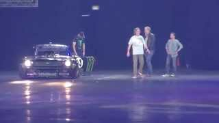 Clarkson, Hammond and May Live Johannesburg 2015 - Ken Block vs. The others