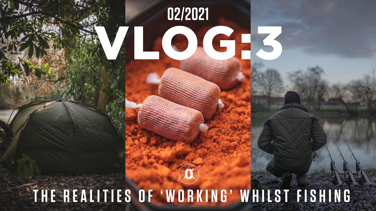 New Lake, New Tactics, and The Reality of 'Working' Whilst Carp Fishing... Luke Venus | Vlog 3