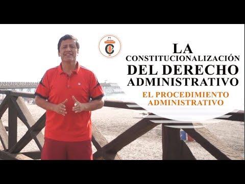LA CONSTITUCIONALIZACIÓN DEL PROCEDIMIENTO ADMINISTRATIVO - Tribuna Constitucional 118 - Guido Aguila