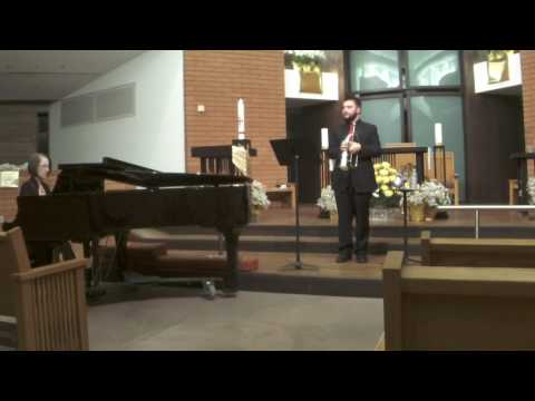 This is from my freshman recital I did in April 2017.
