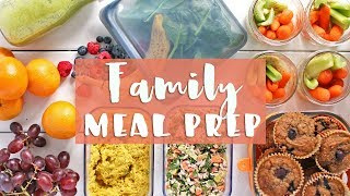 EASY MEAL PREP WITH ME! | Family Meal Prep