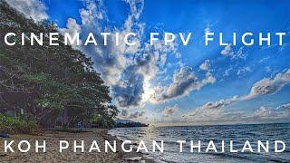 Cinematic FPV over the beach | Thong-Sala | Koh Phangan | Thailand