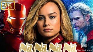 Na Na Na Na   Main Tera Boyfriend Song   Thor And Captain Marvel love Song   Thor Song   Super Fire