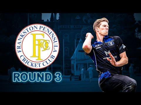 2019/20 Round 3 vs Frankston Peninsula 1st XI: Highlights