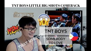 [REACTION] IMPRESSIVE KIDS! TNT BOYS slay SOMEBODY TO LOVE by Queen | Little Big Shots | #JANGReacts