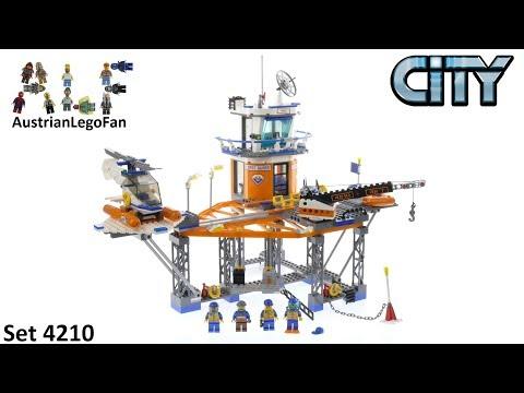 Vidéo LEGO City 4210 : La plate-forme des garde-côtes