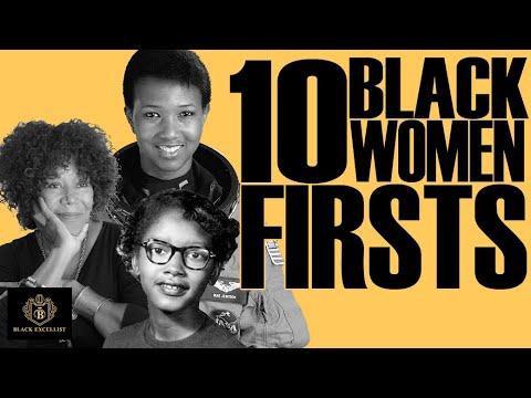 Black Excellist: Black Women Firsts & Trailblazers