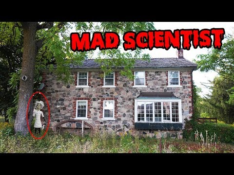 DONT GO TO AN EVIL MAD SCIENTISTS MANSION! SECRET HIDDEN GOLD TREASURE MAPS FOUND INSIDE!!