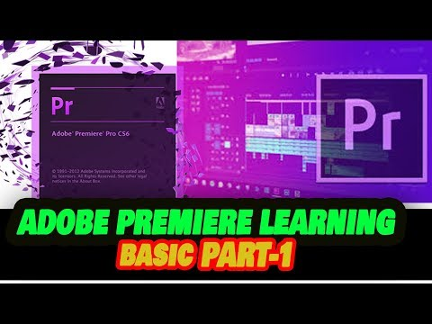ADOBE PREMIERE PRO CS6 LEARNING ||  VIDEO EDITING BASIC IN NEPALI || Adobe Products