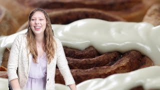 How to Make Healthy Homemade Cinnamon Rolls By Crystal