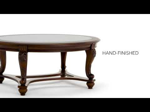 Norcastle T499-0 Oval Cocktail Table